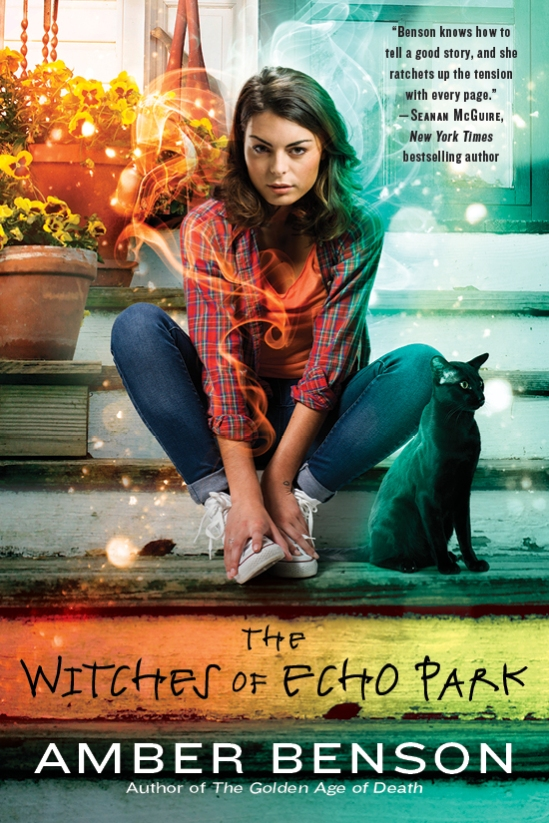 Book Cover - Witches of Echo Park
