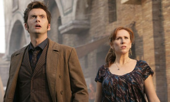 The 10th Doctor and Donna